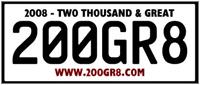 200GR8 Plate